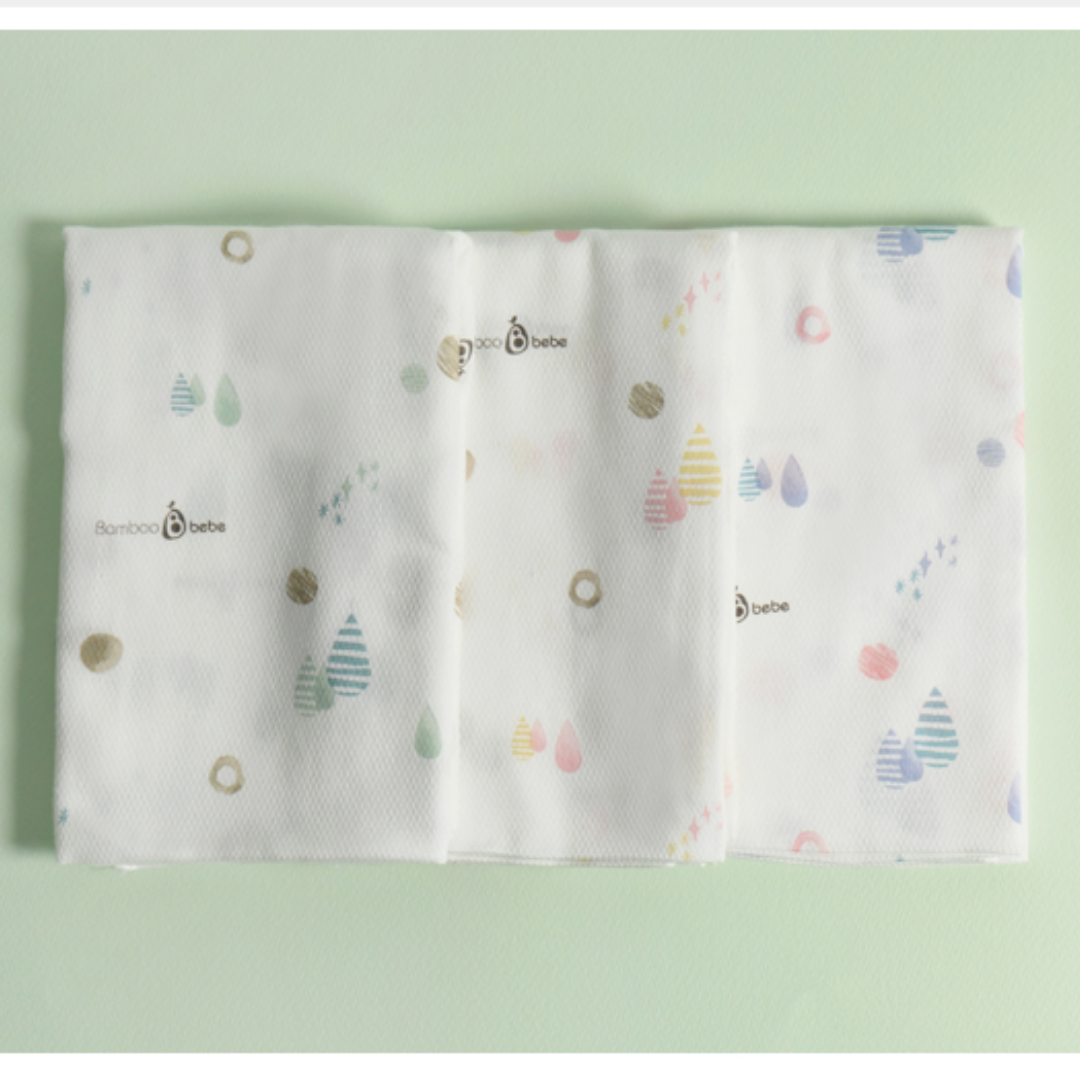 New Mild Bamboo Cotton Candy Diapers (Set of 3)