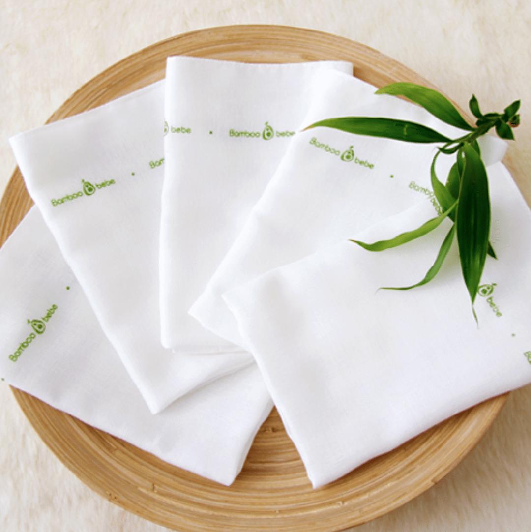 Original Mild Bamboo Cotton Candy Gauze Handkerchief (10 Pack)