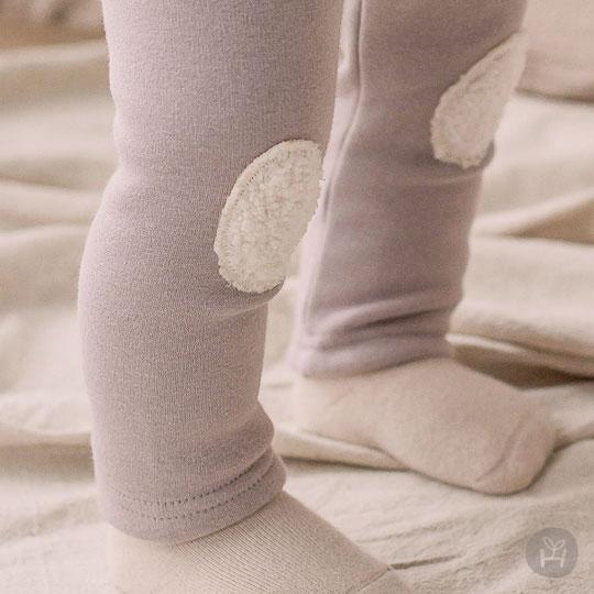 Grey Dante Fleece Lined Leggings