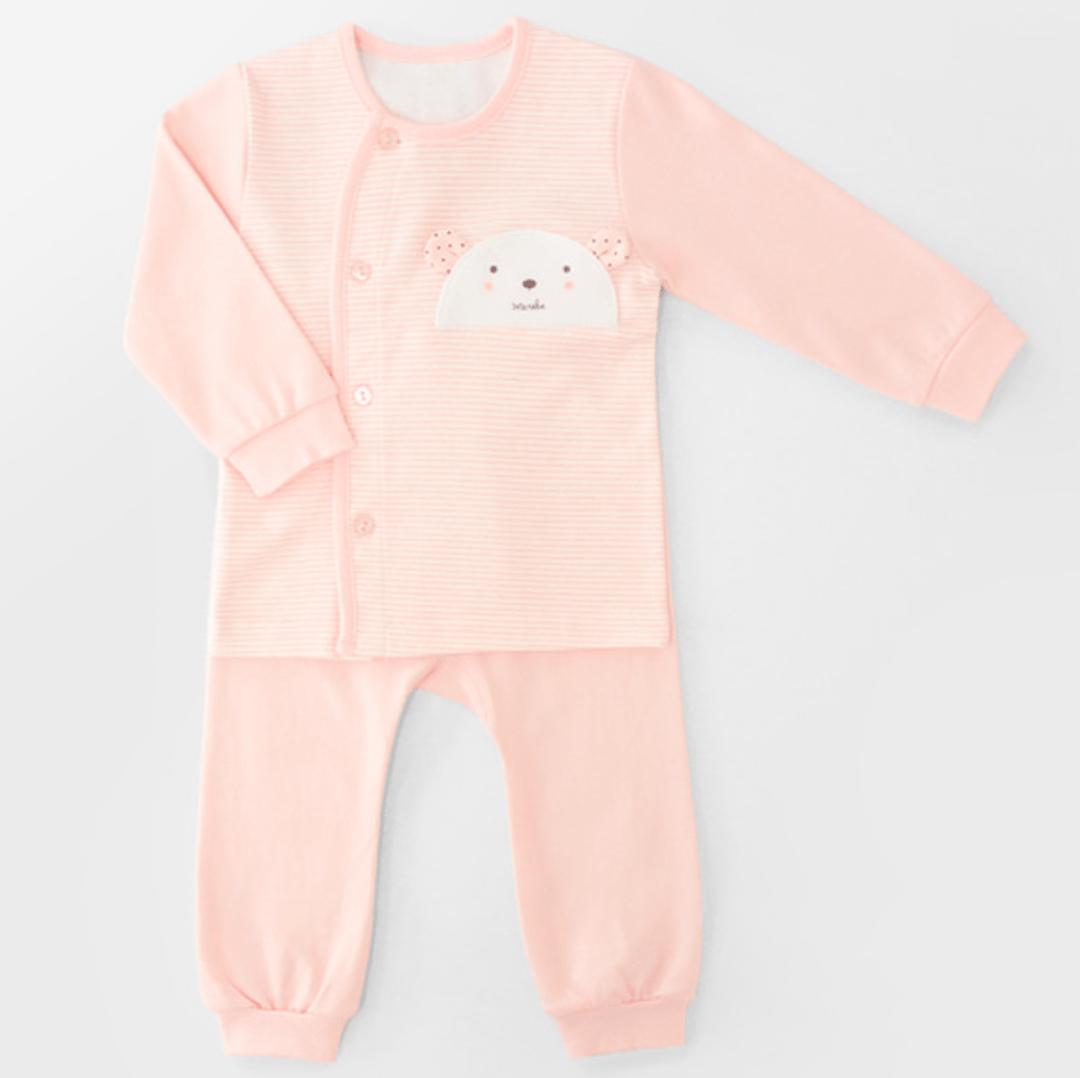 Pink Teddy Bear Four Seasons PJ Set