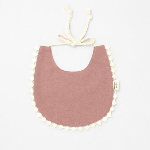 Deep Pink Cotton Bib