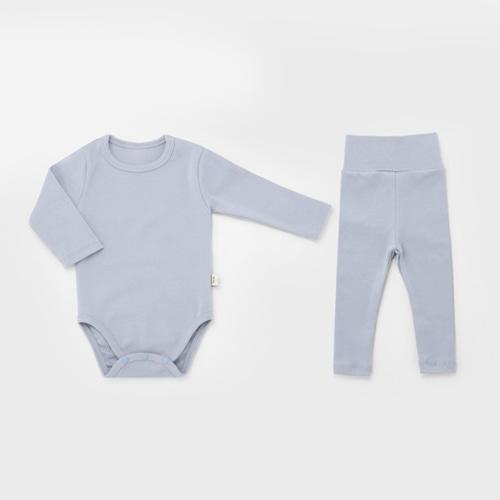 Deep Blue Spandex Bodysuit Set