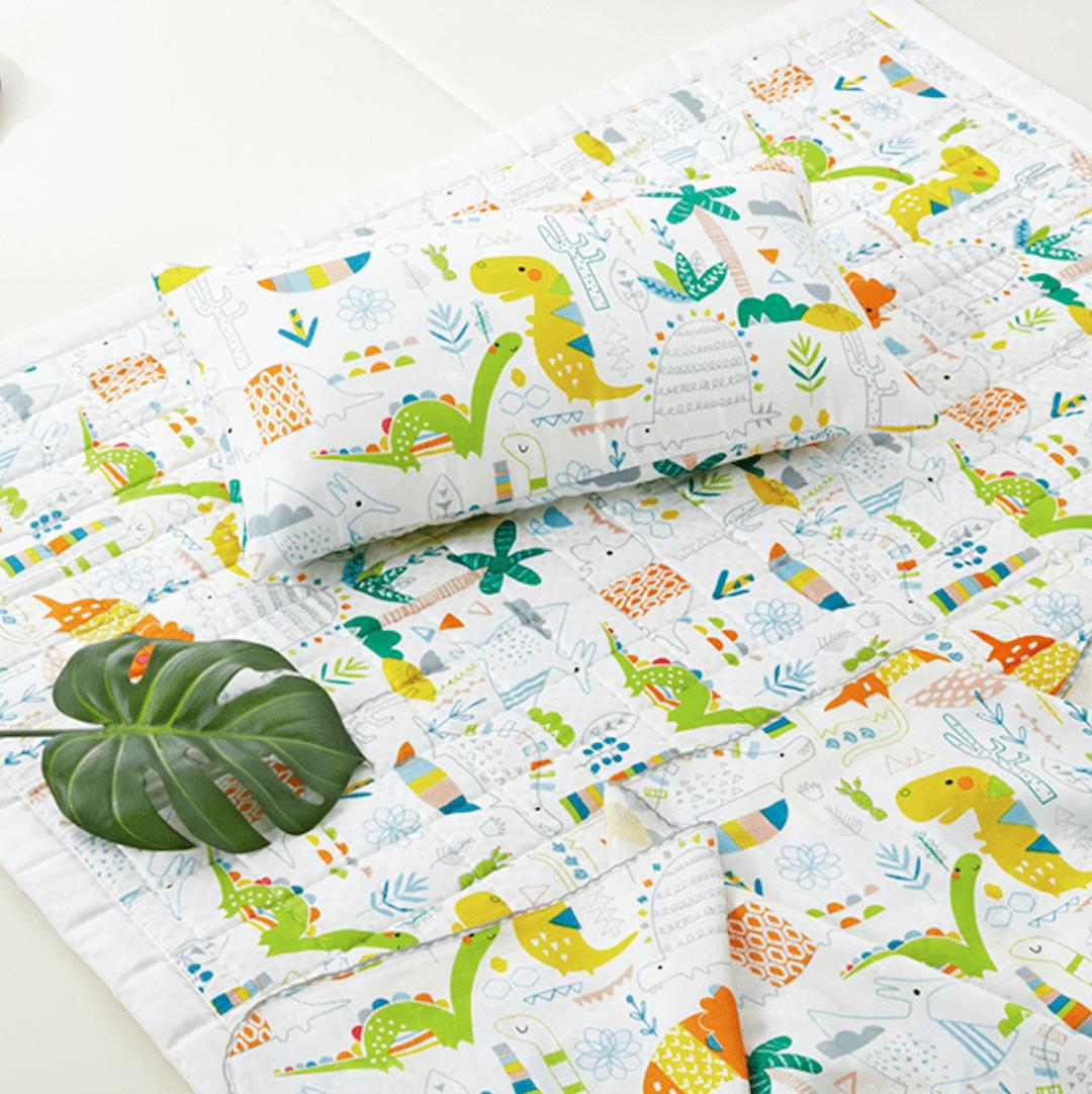 Artificial Silk Premium Cooling Babycare Mat – Dinoland
