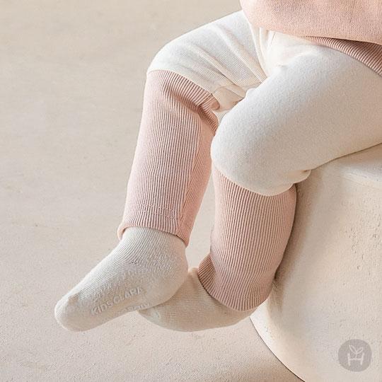 Paul Baby Leggings (Sand Pink)