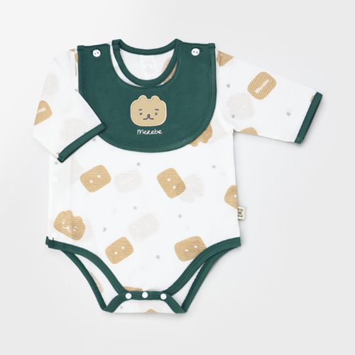 Square Bear Jacquard Summer Bodysuit