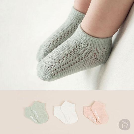 Holly Summer Baby Socks