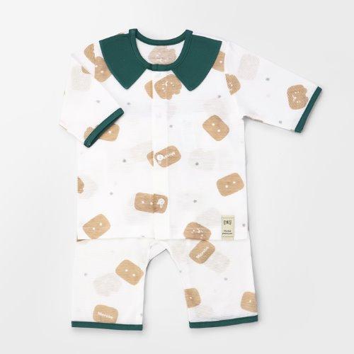 Square Bear Jacquard Summer PJ Set