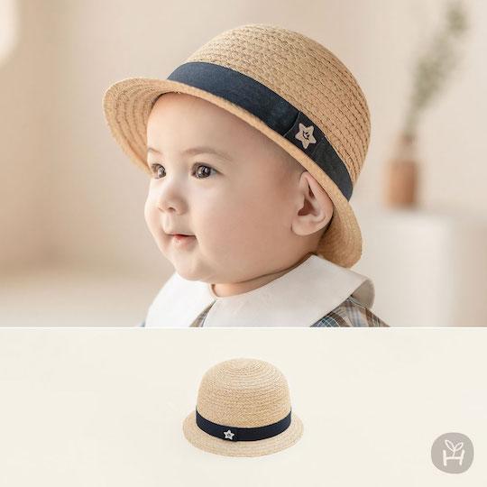 Happy Prince Baby Straw Fedora