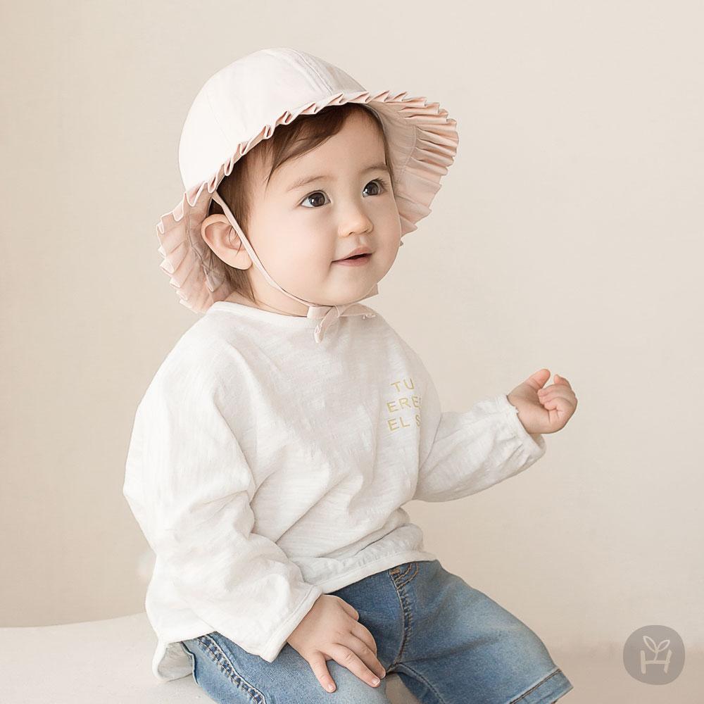 Oscar Baby Long Sleeve T-Shirts – White