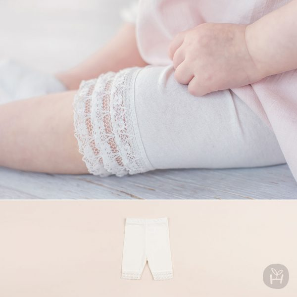 Happy Prince Lace Baby Leggings