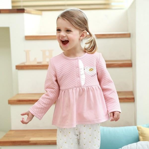 Sage Macaroon Pink Winter Loungewear