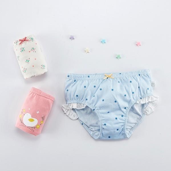 Flora Girl Underwear Briefs 3-Pack (3-8Y)