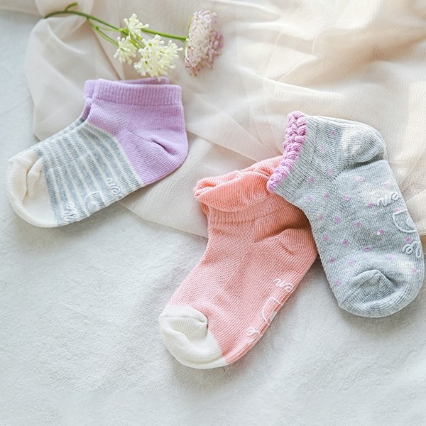 May Girl Socks 3 Set (3-8Y)
