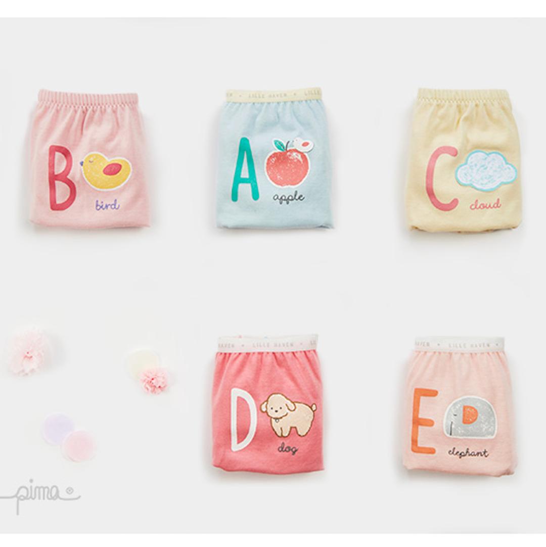 Pony Girl Underwear Briefs 5-Pack (3-8Y)