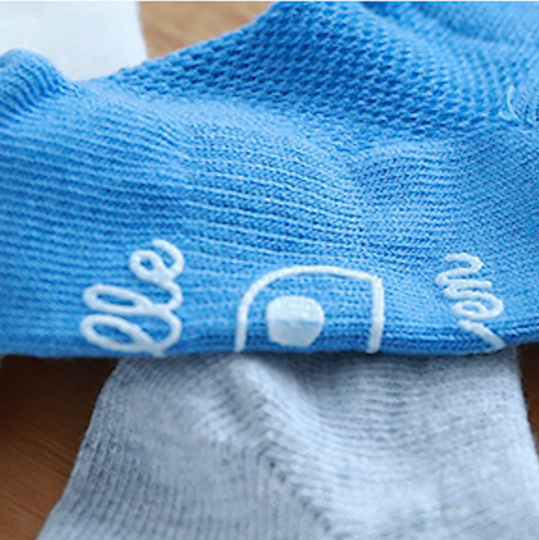 Ray Boy Socks 5set (3-8Y)