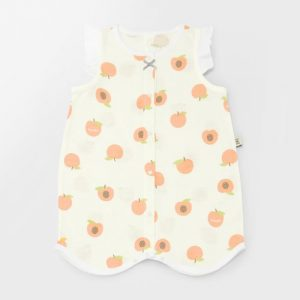 MEREBE Apricot Summer Sleep Vest