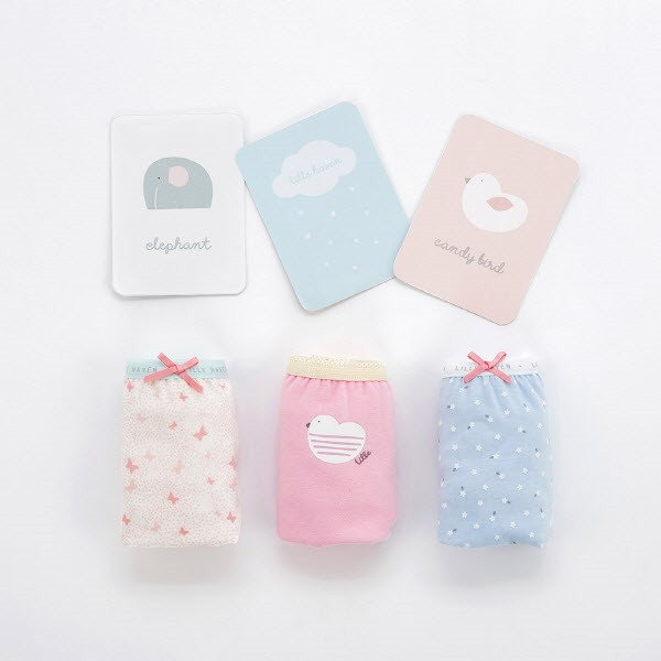 Ariel Girl Underwear Briefs 3-Pack (3-8Y)