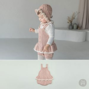 Pauline Knit Baby Overall
