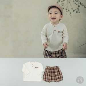 Izcan Baby Top and Bottom Set