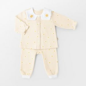 mini daisy winter PJ set
