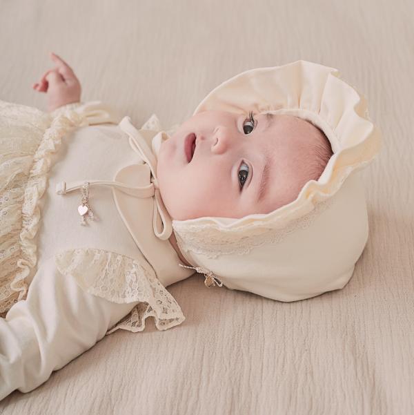 Jasmin Baby Bonnet