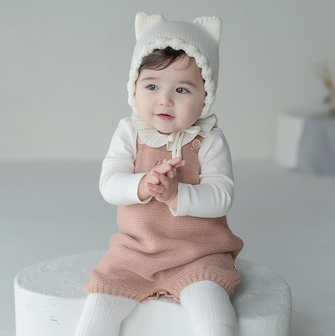 Tammy Knit Baby Overall