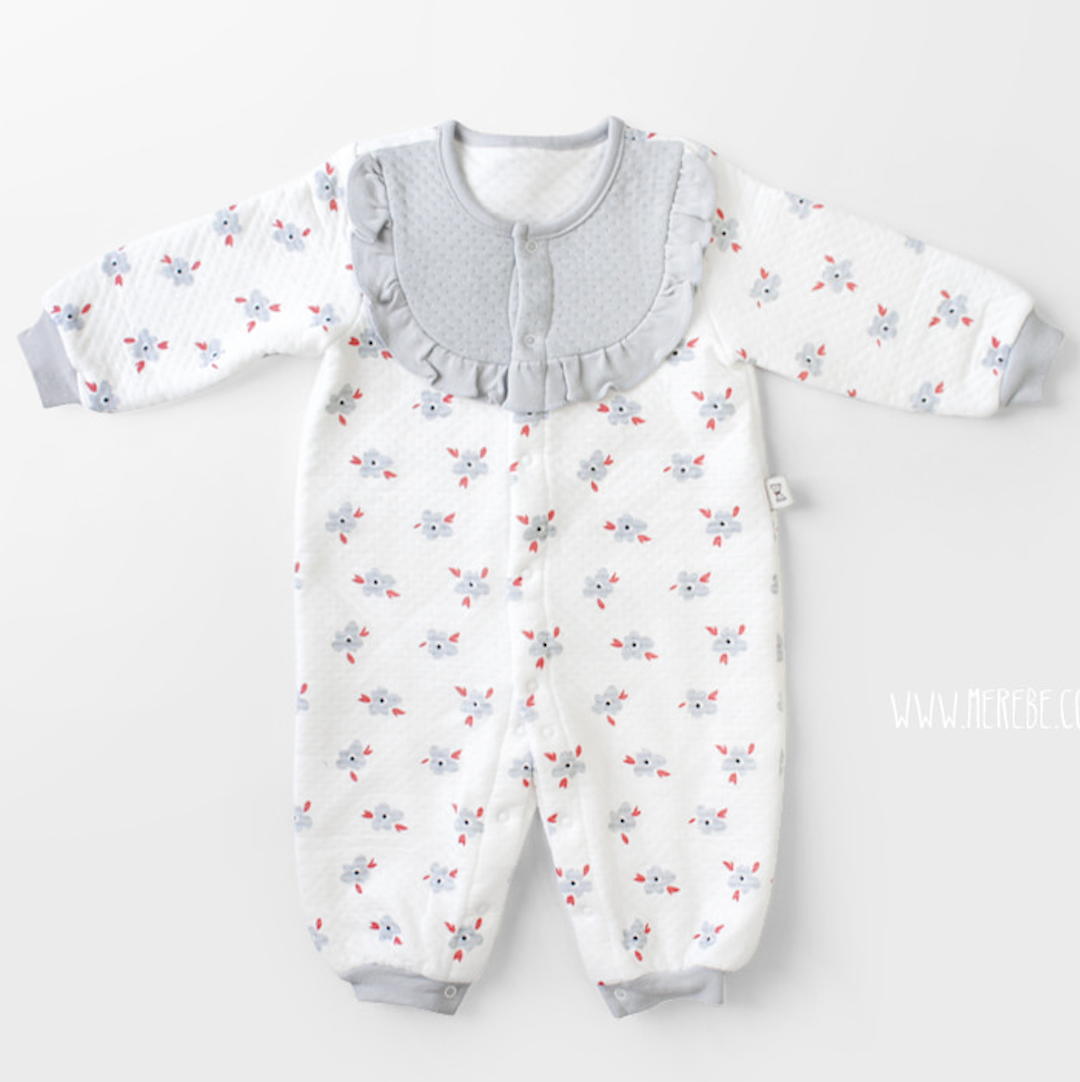 Dry Flower Winter Coverall