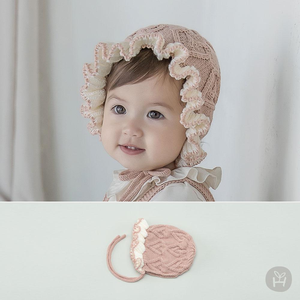 Pauline Knit Baby Bonnet