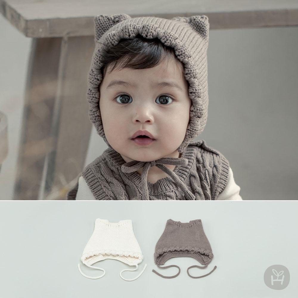 Fla Knit Baby Bonnet