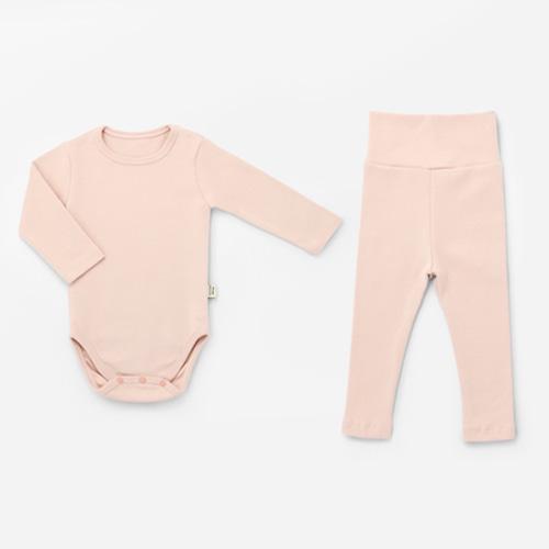 Indi Pink Spandex Bodysuit Set