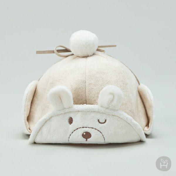 Merino Winter Baby Cap
