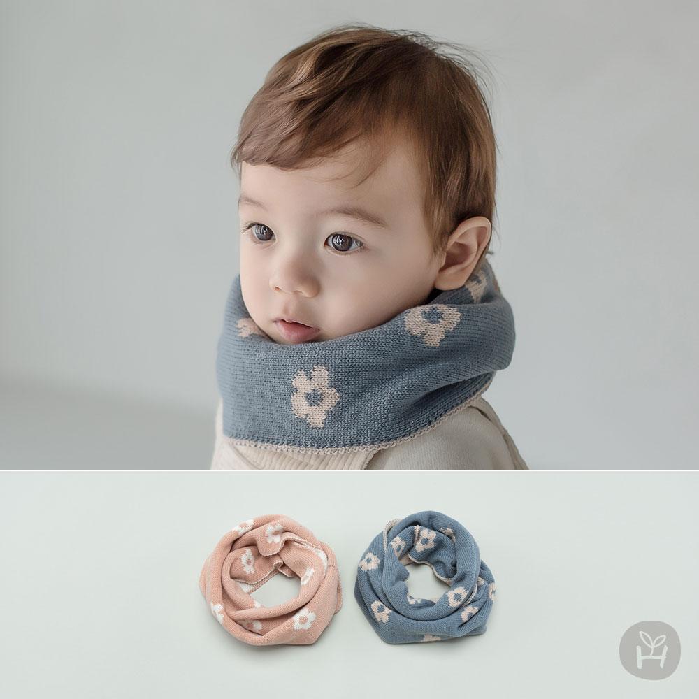 Zoe Knit Double-sided Baby Muffler