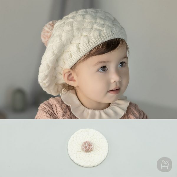 Riley Knit Baby Beret