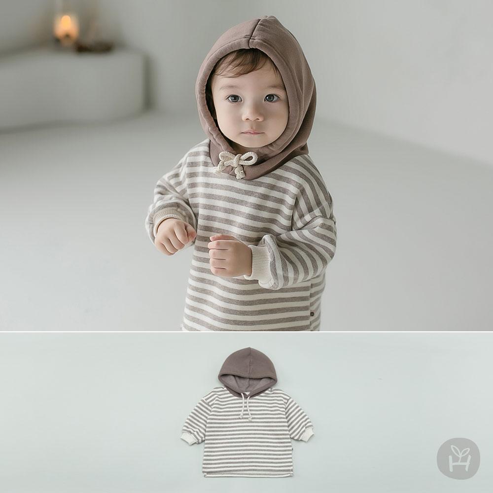 Wilter Hood Fleece Lined Baby Hoodie