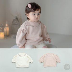 Jayna Fleece Lined Baby Sweatshirt