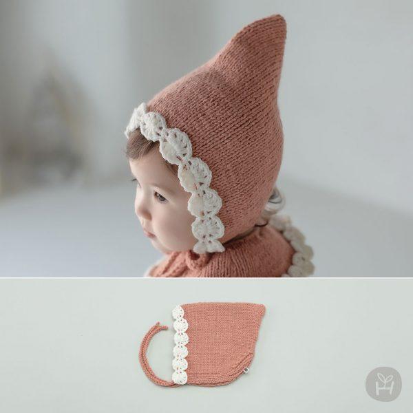 Miley Knit Baby Bonnet