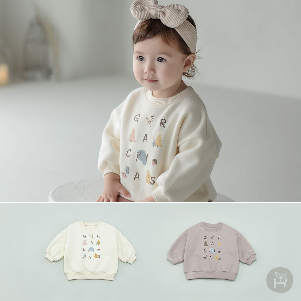Ross Fleece Lined Baby Sweatshirt