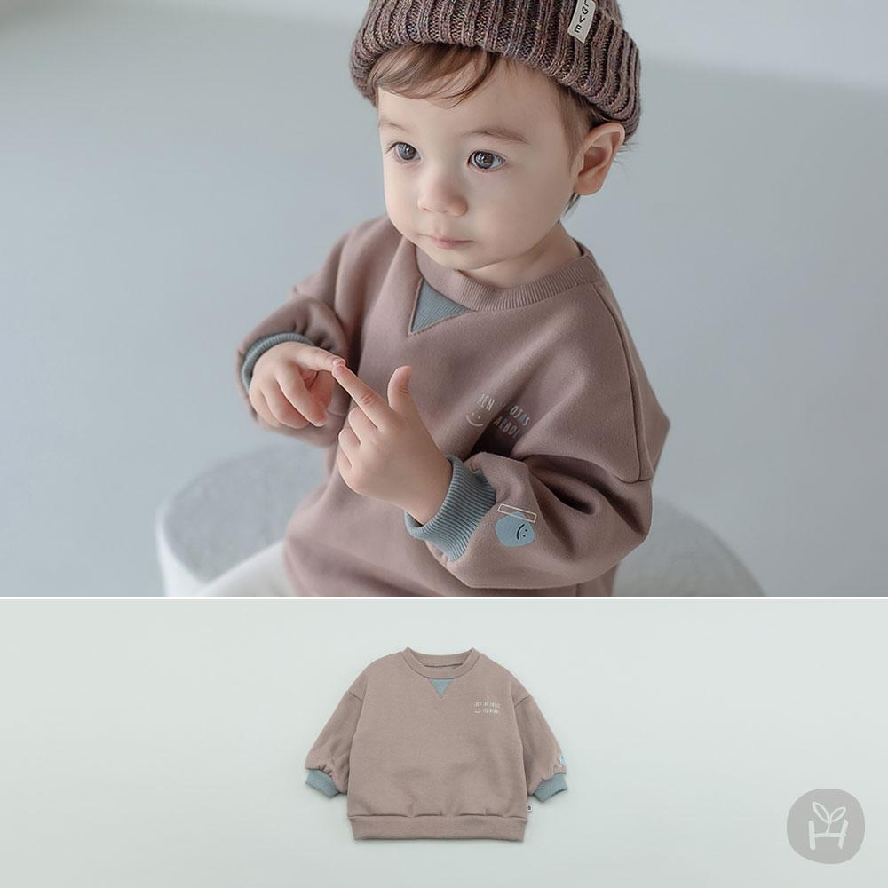 Lauren Fleece Lined Baby Sweatshirt