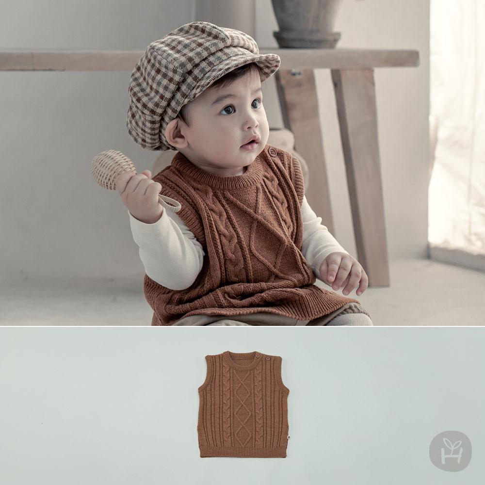 Zens Knit Baby Vest