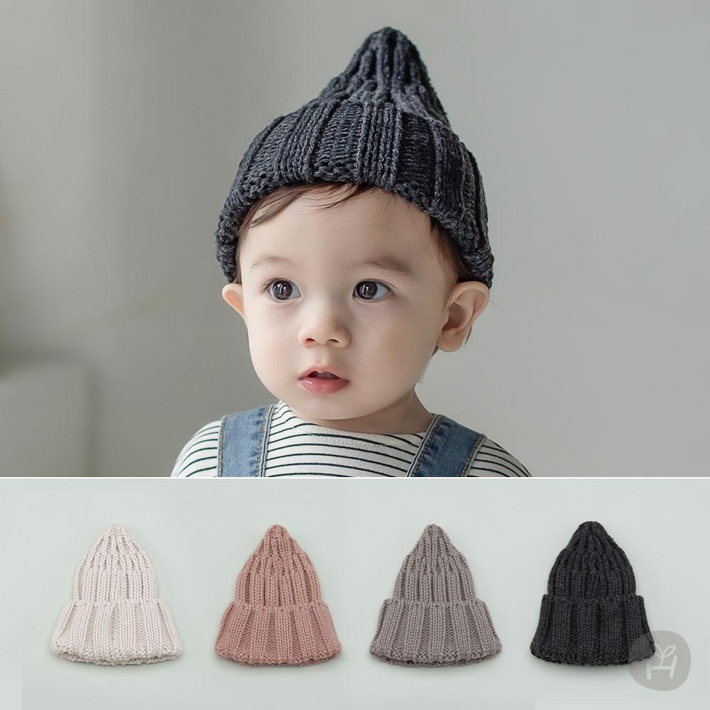Sand Knit Baby Beanie