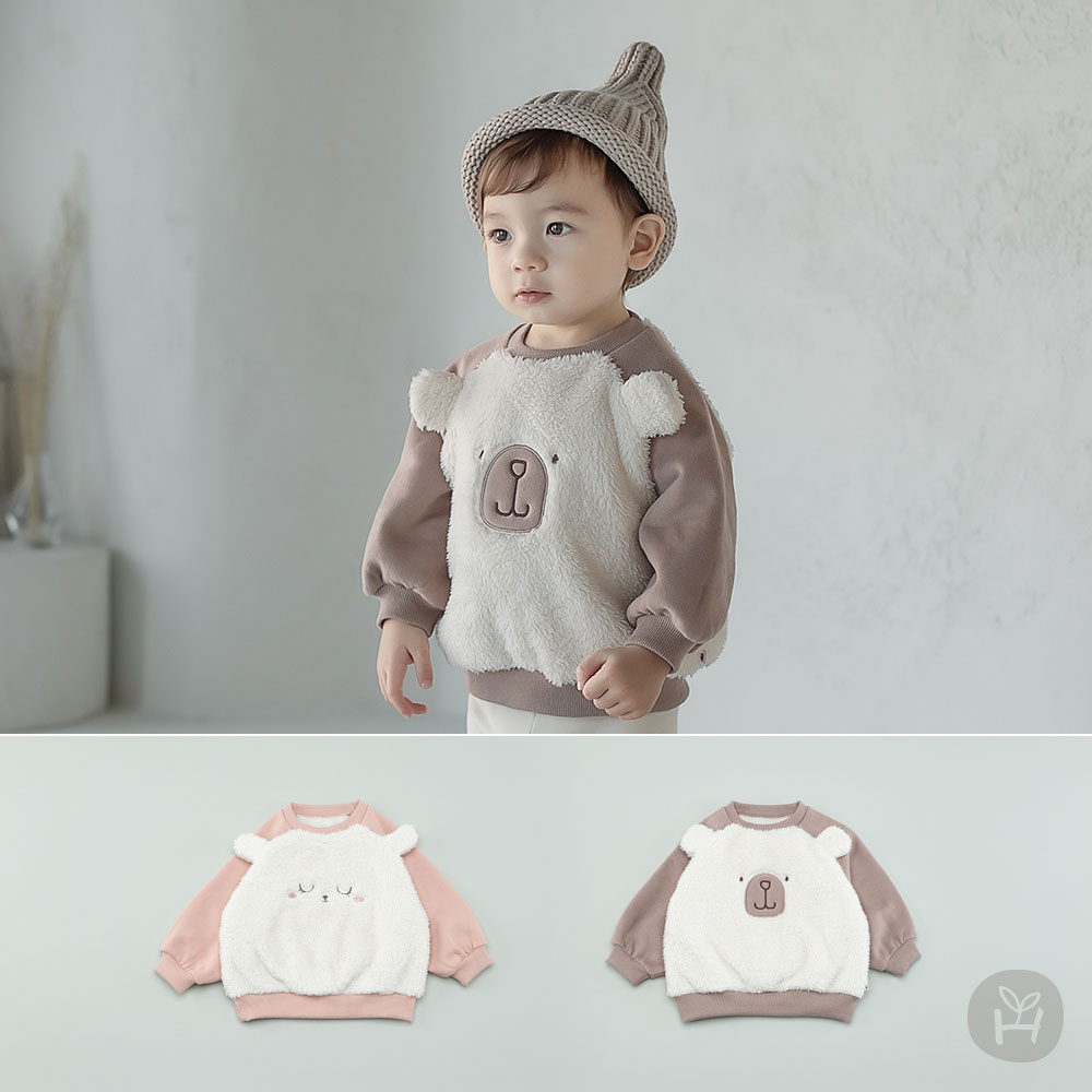 Ancho Fleece Lined Baby Sweatshirt