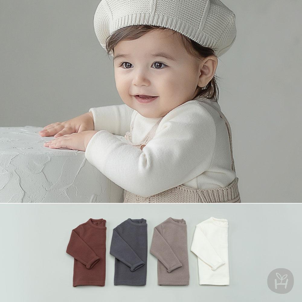 Lau Fleece Lined Baby Long Sleeve