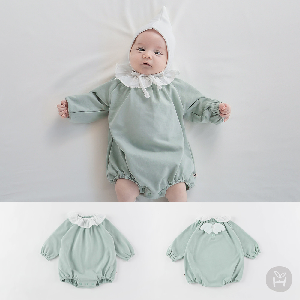 Anjou Baby Coveralls