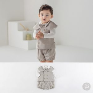 Dejan Baby Vest and Bottom Set