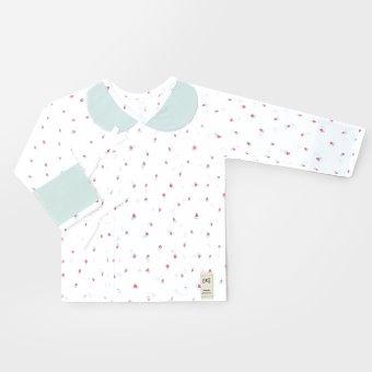 Mini Berry Summer Jacquard Newborn Top