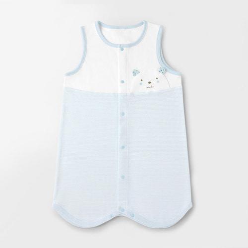 Blue Teddy Bear Four Seasons Sleep Vest