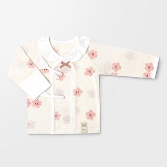 Cherry Blossom Summer Jacquard Newborn Top