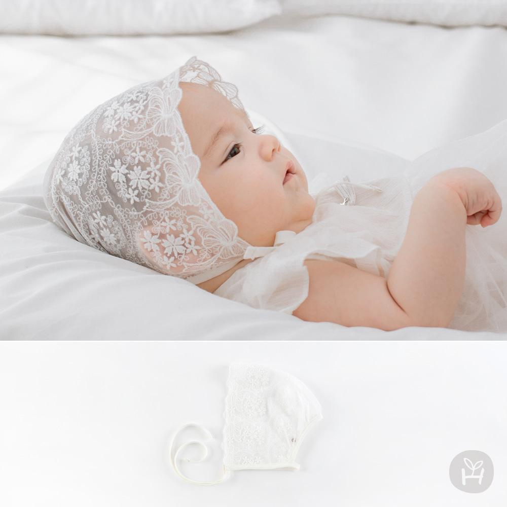 Cos Lace Baby Bonnet