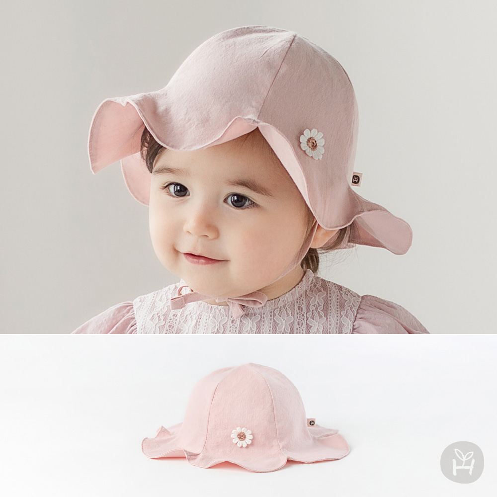 Daisy Flower Baby Sun Hat