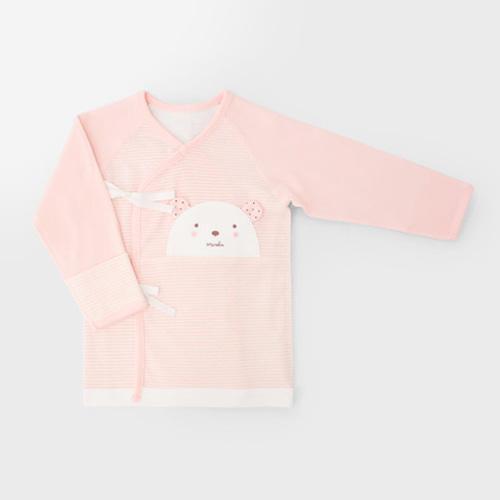 Pink Teddy Bear Four Seasons Newborn Spring/Fall Top